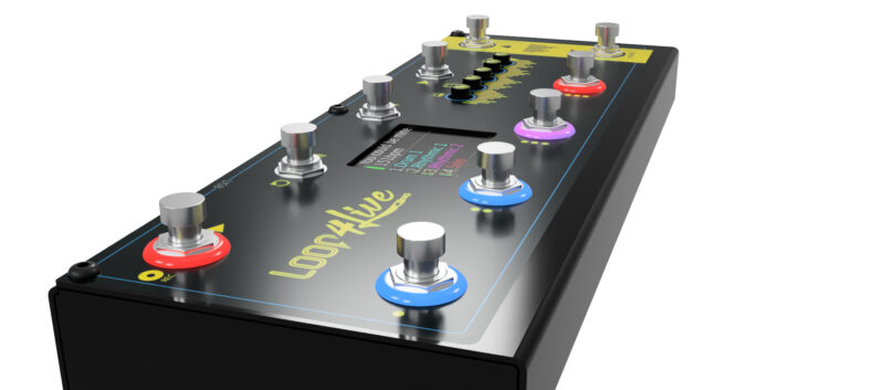 ableton live foot controller
